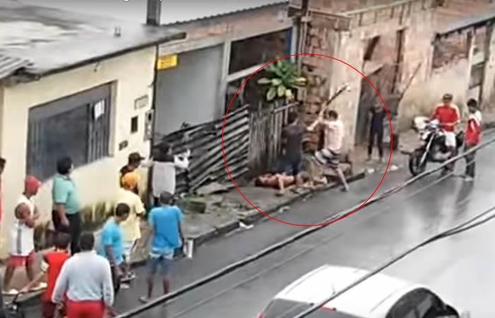 En Brasil hombre asesinó a su padrastro a 'palazos' por golpear a su madre