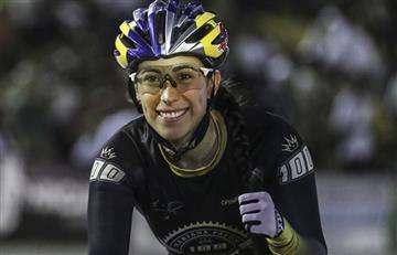Mariana Pajón debuta en la pista con un triunfo