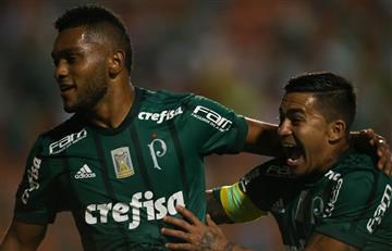 Miguel Borja vuelve a marcar luego de 119 días, victoria del Palmeiras
