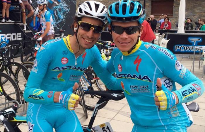 MiguelÁngel López la apuesta del Astana tras la salida de Fabio Aru