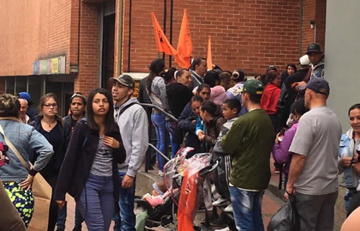 Protestas en Bogotá complican la movilidad