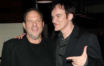 Tarantino acepta que conocía de la conducta sexual de Weinstein