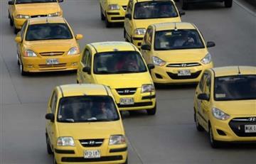 Tarifas de taxis aumentarán en Bogotá por desmonte de taxímetros