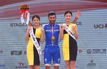 Fernando Gaviria enorgullece a Colombia con otro triunfo en el Tour de Guangxi