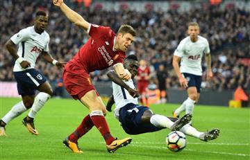 El Tottenham de Davinson Sánchez goleó al Liverpool