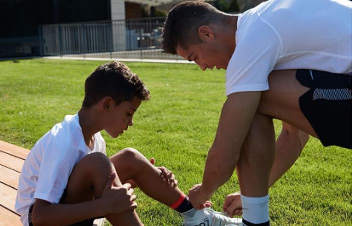 Hijo de Cristiano Ronaldo se vuelve viral en redes por impactante gol