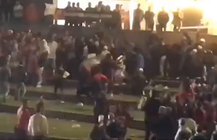 Cierre violento de Hip Hop al Parque en Bogotá