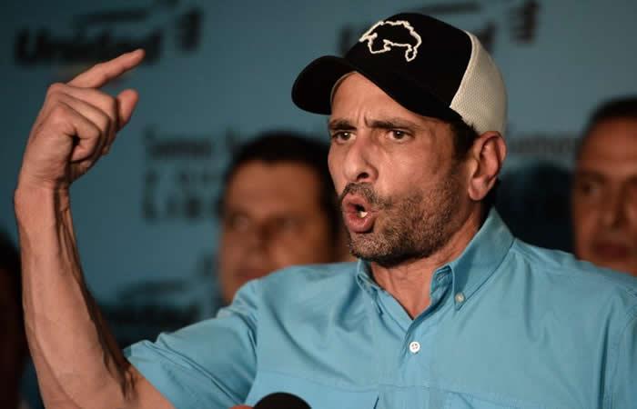Capriles se retiró de la coalición opositora venezolana