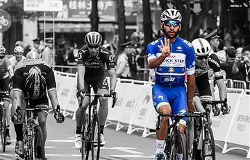 Fernando Gaviria el ciclista con más victorias en el año