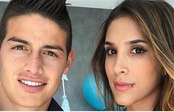 James Rodríguez: Daniela Ospina confirmó que sí irá a Rusia 2018