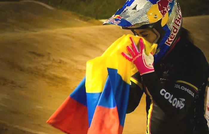 Mariana Pajón lista para competir en los Juegos Bolivarianos