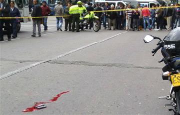 Un herido tras intento de robo en el centro de Bogotá