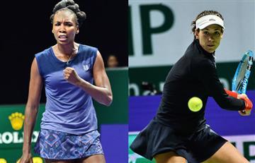 Venus le gana a Ostapenko y Muguruza es derrotada por Pliskova del Masters