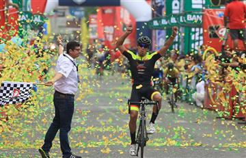 Video: Colombiano Sebastián Rodas gana segunda etapa de la Vuelta a Guatemala