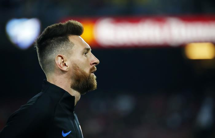 El argentino Lionel Messi. Foto. AFP