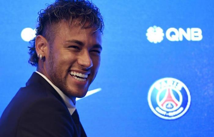 Neymar en el PSG. Foto: AFP