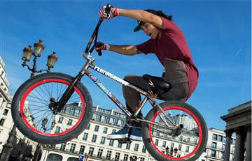 Julián Molina, el colombiano en París que hace BMX con una pierna