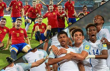 Mundial Sub 17: España e Inglaterra a la gran final