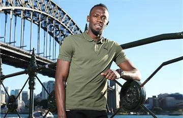 Usain Bolt promete perseguir su sueño de jugar al fútbol profesional