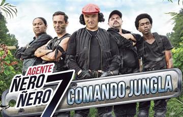 'Agente Ñero Ñero 7: Comando Jungla' regresa a las sala de cine de Colombia