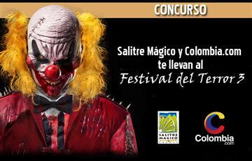Concurso: Salitre Mágico y Colombia.com te llevan al Festival del Terror 3