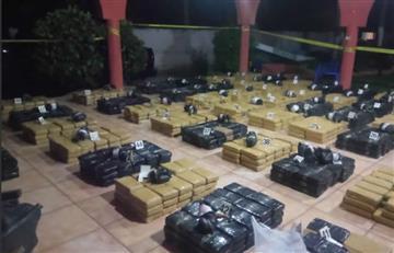 Colombianos detenidos en El Salvador por traficar cocaína