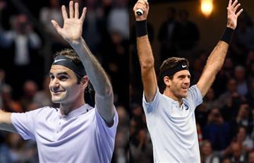 Federer y Del Potro avanzan a cuartos de final en Basilea