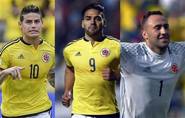 James, Falcao y Ospina prenden las alarmas en la selección Colombia