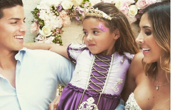 James Rodríguez: Su hija Salomé incursiona como modelo