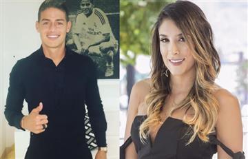 ¿James Rodríguez y Daniela Ospina volvieron? , esta foto los delata