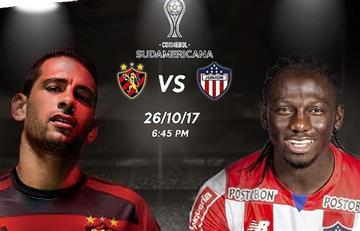 Junior visita al Recife con la ilusión de sacar ventaja en la Sudamericana