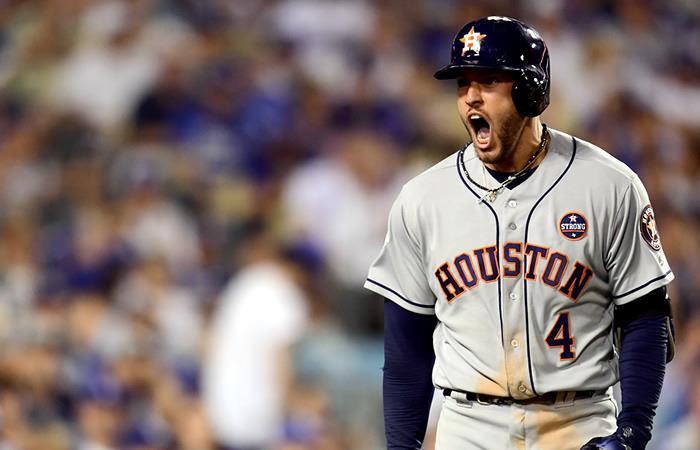Los Astros vencieron a los Dodgers y empataron la Serie Mundial