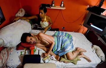 Video: Cuadripléjico venezolano pide a Maduro autorizarle la eutanasia