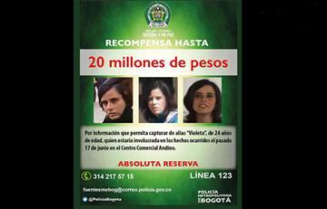 Policía ofrece recompensa por Violeta de hasta $20 millones