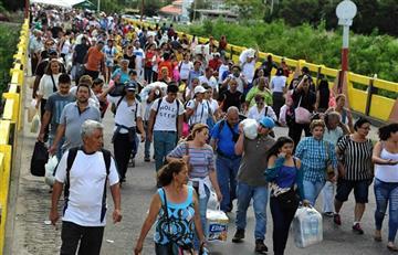 A Colombia han llegado 470.000 venezolanos
