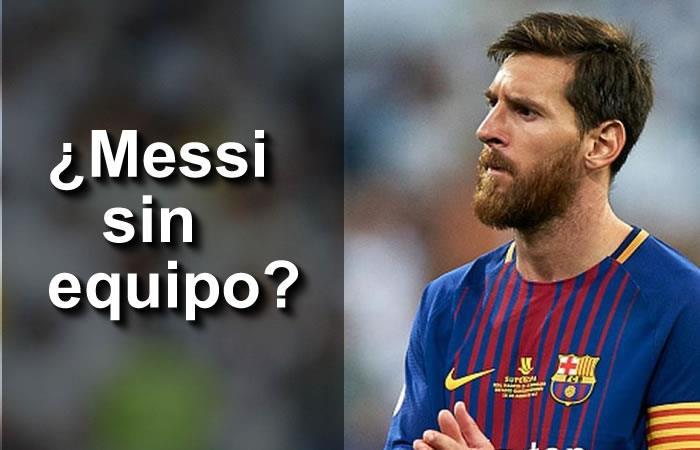 ¿Lionel Messi se va del Barcelona por independencia de Cataluña?