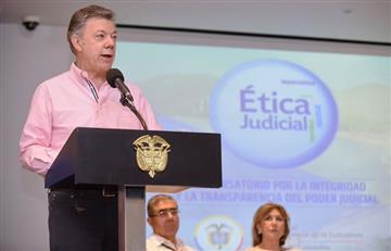 Santos defiende proyecto de ley que busca amparar a pequeños cocaleros