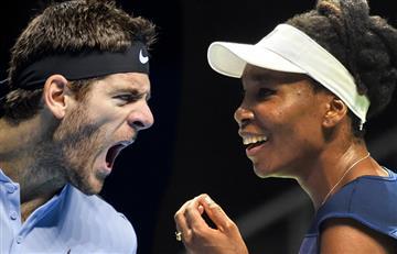 Del Potro y Venus Williams a las finales del Masters