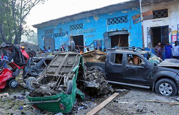 Somalia: 14 personas fallecidas tras explosión en dos vehículos