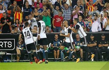 Valencia de Jeison Murillo a un punto del líder Barcelona