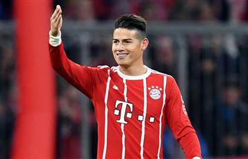 James Rodríguez: La Bundesliga lo escogió como el mejor jugador de la fecha