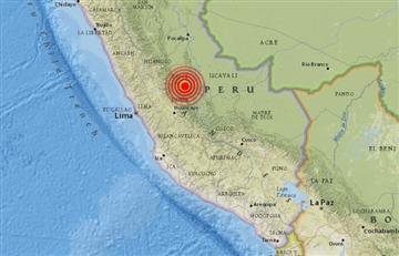 Sismo en Perú de 5,7 grados de magnitud