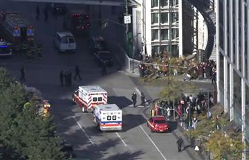 En Vivo: Tiroteo en Manhattan dejó varios heridos