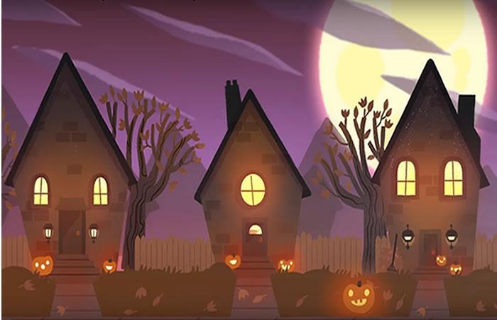 Google celebra Halloween con un 'doodle' muy especial