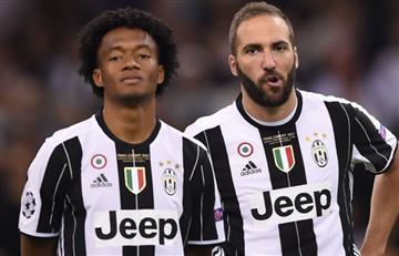 Higuaín y Cuadrado salvan a la Juventus en Champions League