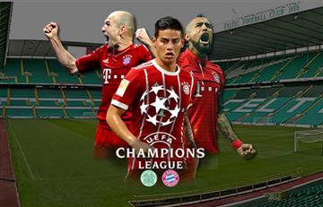 James Rodríguez: Celtic vs. Bayern Múnich EN VIVO