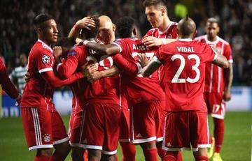 James Rodríguez y el Bayern Múnich clasifican a los octavos de final
