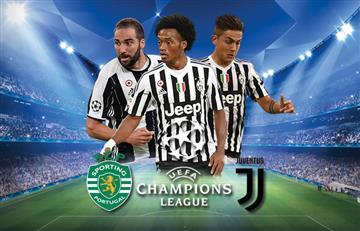 Juan Guillermo Cuadrado: Juventus vs. Sporting EN VIVO