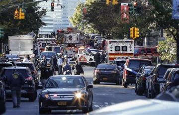 """Ocho muertos en Manhattan en """"acto terrorista"""""""