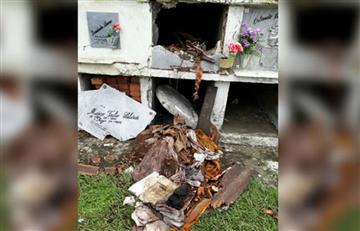 Sectas satánicas estarían profanando tumbas en cementerio del Valle del Cauca